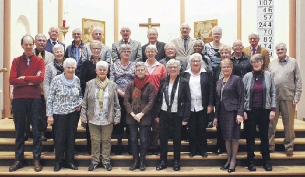 Gemengd Koor van de Joannes de Doper parochie Hoofddorp
